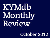Monthly Review: October 2012