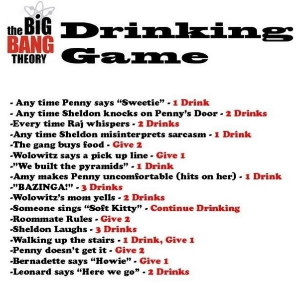 TV Drinking Games | Know Your Meme