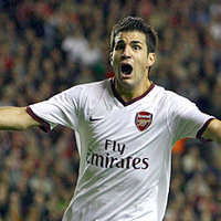 Fabregas' Goal Celebration
