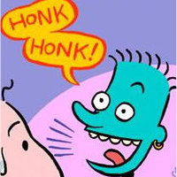 Honk Honk!/Doug comic
