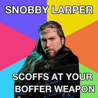 Snobby Larper