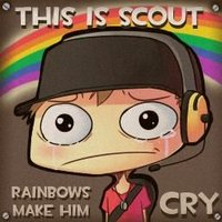 This Is Scout, Rainbows Make Me Cry!