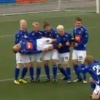 Iceland Soccer Fishing (Best Goal Celebration Ever)
