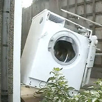 Washing Machine Self Destructs