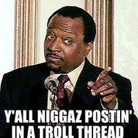 Yall Niggas Postin' In a Troll Thread