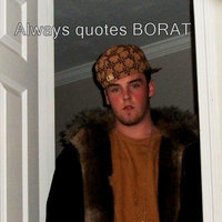 Scumbag Steve Impersonator