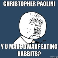 Dwarf Eating Rabbits