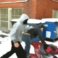 Chicago Teens Beating Video