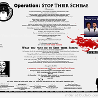 Operation Stop their scheme