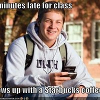 15 Minutes Late With Starbucks
