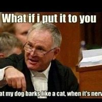 Barry Roux I put it to you