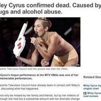 Miley Cyrus Death Hoax