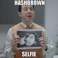 Hashbrown Selfie (Esurance Guy)