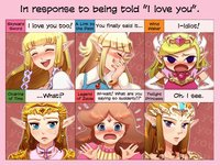 Princess Zelda's Reaction