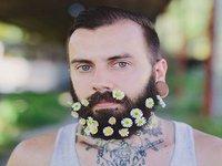 Flower Beard: The Latest Fashion Trend for Men