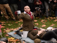 UK Porn Censorship Protesters Sit on Faces