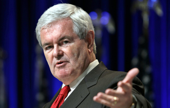 Gingrich Says At 'Newt U,' History Will Be The Toughest Grader