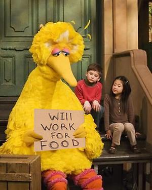Fired Big Bird Mitt Romney Hates Know Your Meme