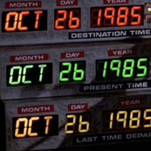 Back to the future date in Perth
