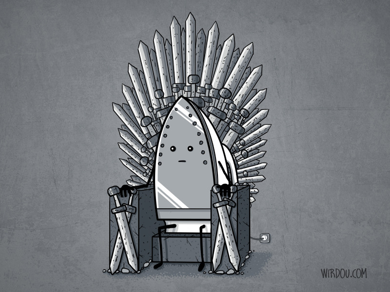 The iron throne know your meme for Iron throne painting