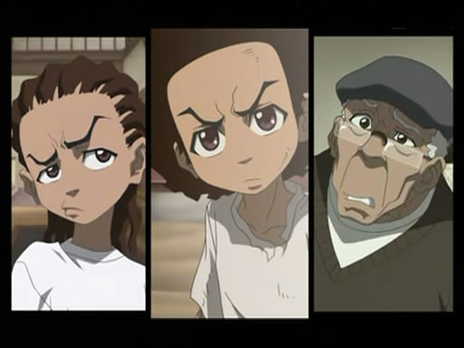 Cleared Boondocks and adult swim