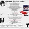 Operation Stop their scheme