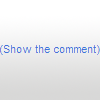 Click the show the comment button to/for X