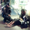 NYPD Cop Buys Homeless Man Boots