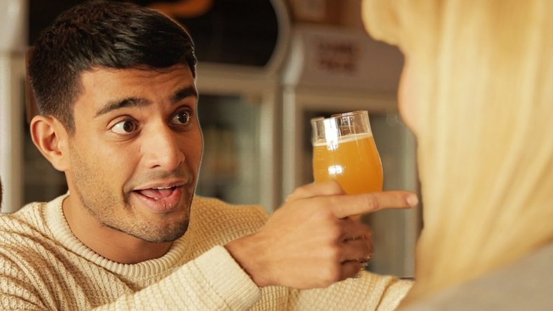 The Guy Who's Too Into His Beer