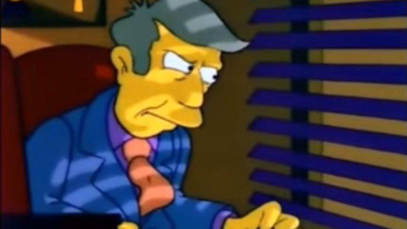Principal Skinner, Twice Memed