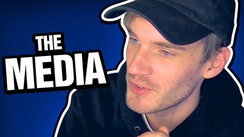 """PewDiePie Hates """"Clickbait"""" Media"""
