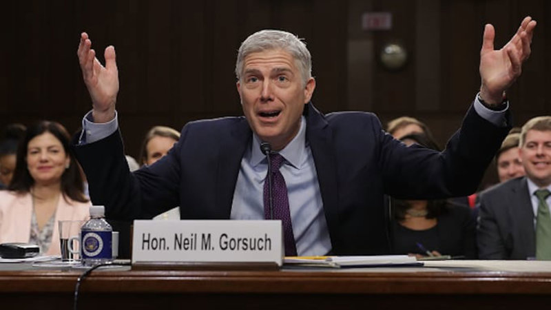 """Gorsuch Asked """"Horse-Sized Duck"""" Question"""