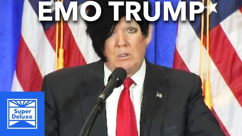 Emo Trump III Turns Rallies Into Warped Tour