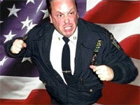 Angry NYPD Cop at Occupy Wall Street