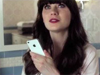 Siri Snaps at Zooey Deschanel