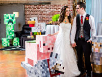 Matt and Asia's Minecraft Wedding