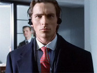 Patrick Bateman is Listening To...