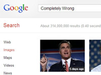 Romney's Google Images Debacle