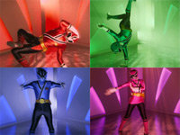 Power Rangers Dance to Dubstep