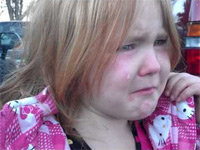Election Campaigns Make a Little Girl Cry