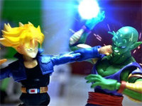 DBZ Stop Motion: Piccolo vs. Trunks
