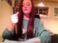 Norwegian Girl Kills the Knife Song
