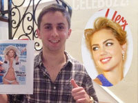 Kate Upton's High School Prom Date