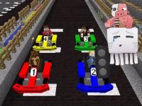 Mario Kart 64 in Minecraft