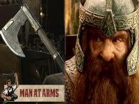 Crafting Gimli's Bearded Axe