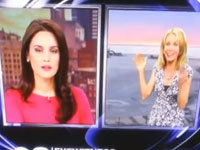 Anchor and Meteorologist Bicker On-Air