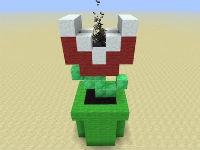 A Working Minecraft Piranha Plant