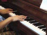 Pokemon Battle Song on a Piano