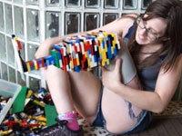 Prosthetic Leg Made With LEGOs