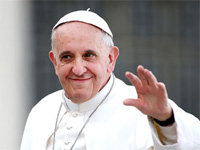 Follow Pope on Twitter & Receive Pardon